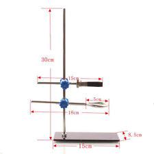 High 30cm Retort Clamp Flask Platform Square Base Laboratory Stands Support SH