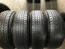 4 X 265 65 17 Dunlop Grandtrek A/T 22 % 95 Tread . Fitting Available, Freight