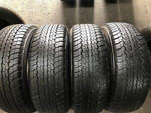 4 X 265 65 17 Dunlop Grandtrek A/T 22 % 95 Tread . Fitting Available, Freight