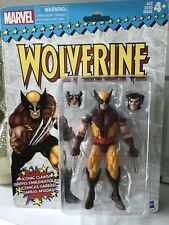 MARVEL Legends RETRO SERIES WOLVERINE. Hasbro Retro Brown Suit Wolverine