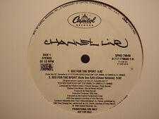 "CHANNEL LIVE - SEX FOR THE SPORT (+FREDWRECK REMIX) (12"")  1995!!!  RARE!!!"