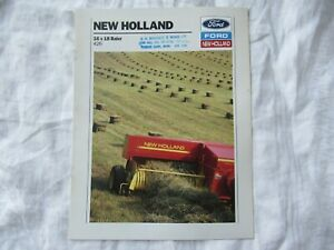 Ford New Holland 426 baler brochure
