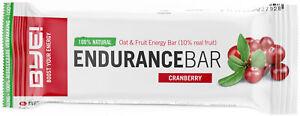BYE! Endurance Bar Preiselbeere - 40gr (Schachtel mit 30 Stück)