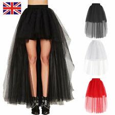 228bb3e56be0 Women Lady Tutu Tulle Skirt Petticoat Ballet Dress Princess Party Wedding  Black