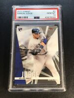 AARON JUDGE 2017 TOPPS FINEST #2 ROOKIE CARD RC PSA 10 NEW YORK YANKEES MLB