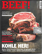 BEEF! Kohle her! Nr. 38 Ausgabe 2/ 2017 Neuwertig Rollbraten Käse Lamm Kaninchen