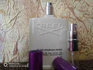 Creed Silver Mountain water toilet water 10ml sample