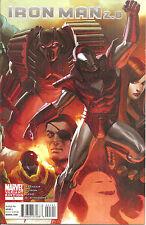 Iron Man  2.0   #1  Djurdjevic Variant  Cover