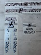 Nos  Blacky Mountain Bike Decal Sticker