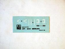 Esci 8323 Vintage Calcomanías Merkava 1:72 modelismo