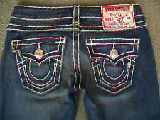 TRUE RELIGION 'BILLY SUPER T' STRETCH JEANS WMN SIZE 6