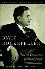 2003 David Rockefeller Memoirs Paperback Book New York Times Best Seller