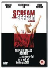 Scream and Scream Again 1970  -  DVD -   Brand New