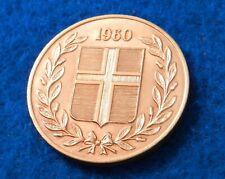1960 Iceland 5 Aurar - Very Pretty Coin - See PICS