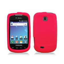 Red Skin Cover Case for Samsung Dart T499