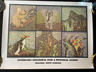 Rivetbanks Zoological Park & Botantical Garden Columbia, SC Mosaic Animal Print
