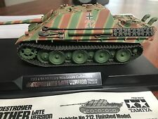 Masterworks Tamiya 26518 1/48 German Tank Destroyer Jagdpanther Finished Model