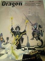 Vintage Dragon Magazine #83 Dungeons and Dragons March 1984 BabaYaga Adventure#1