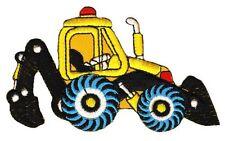 Ag49 escavatore cantiere ricamate STAFFA immagine applicazione cantieri veicolo trattore