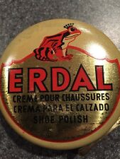 Erdal Tree Frog Vintage Shoe Polish Tin Made In Germany Circa 1960s Unopened NOS
