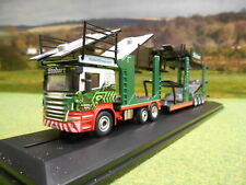OXFORD EDDIE STOBART CHRISTINA FRANCES SCANIA EVO CAR TRANSPORTER 1/76 76SCT005