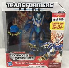 Transformers Prime RID Robots In Disguise Voyager Class Thundertron MISB
