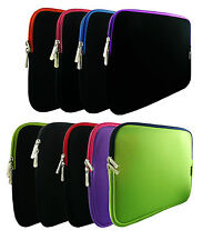"Neoprene Sleeve Zip Case Cover for 9.7""-10"" inch CnM Touchpad tablet"