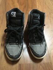 NIKE DUNK HIGH DENIM DESTROYED LIMITED EDITION SOLD OUT