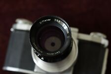 S-PLANAR Carl Zeiss, 1:5.6, F=120mm, an old macro lens adapted for M42 mount