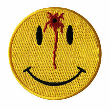 Embroidered Shot Smiley Sew or Iron on Patch Biker Patch