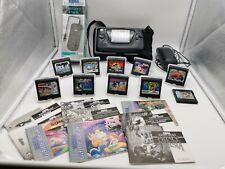 Sega GAMEGEAR Riesen Sammlung Spiele Zubehörpaket siehe Bilder schneller Versand