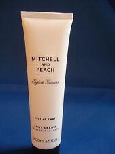 Mitchell And Peach English Growers English Leaf Body Cream Moisturiser 100ml NEW