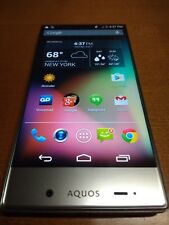 Sharp Aquos Crystal 306SH - 8GB - Black & Silver (Sprint) Smartphone Rare Unique