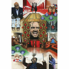 "24x36 Jack Nicholson ""The Shining "" collage movie poster"