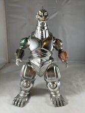 """1993 BANDAI DX 10"""" Super Mechagodzilla Godzilla ROARING LIGHTS WORKS!"""
