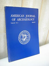 AMERICAN JOURNAL of ARCHAEOLOGY 1976 N°2
