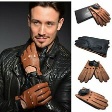 MEN'S FASHION LEATHER DRIVER GLOVES