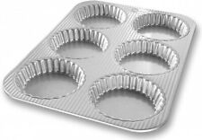 New listing (Mini Fluted Tart Pan) - Usa Pans 6-Well Fluted Tart Pan 380m. Best Price