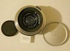RARE Carl Zeiss Jena Lens Contax  Biogon red T 2.8/3.5cm T 35mm 2.8