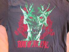 Vintage SLAYER Concert Shirt 1988 World Sacrifice Tour True Vintage Original