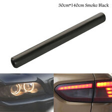 30 x140cm Smoked black Car Headlight Tint Film Fog Tail Light protector