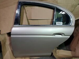 JAGUAR S-TYPE 2002-2007 DRIVER SIDE REAR DOOR SHELL LEFT A
