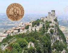 Republic of SAN MARINO - Travel Souvenir Flexible Fridge Magnet