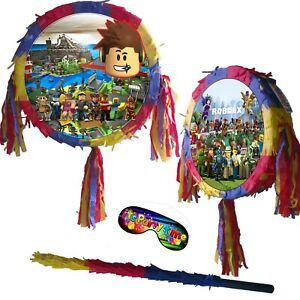 Piñata set Kids Smash Party Lego Awesome Blocks Game virtual UK Roblox Play PSP