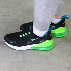 Nike Air Max 270 (GS) Sneaker Schuhe Damen Kinder Jungen Schwarz DM3111 001