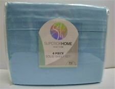 Superior Home FULL Blue Sheet Set