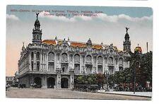 c. 1910 Colorized Litho Postcard - National Theatre, Habana (Havana), Cuba