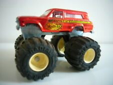Majorette: Jeep Cherokee Firestorm 'Big Foot', 1980s, excellent, made in France