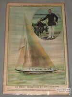 November 22nd 1930 La Presse Enterprise Yachting  Premium Photo