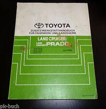 Werkstatthandbuch Toyota Land Cruiser / Prado Fahrwerk / Karosserie, 06/1999